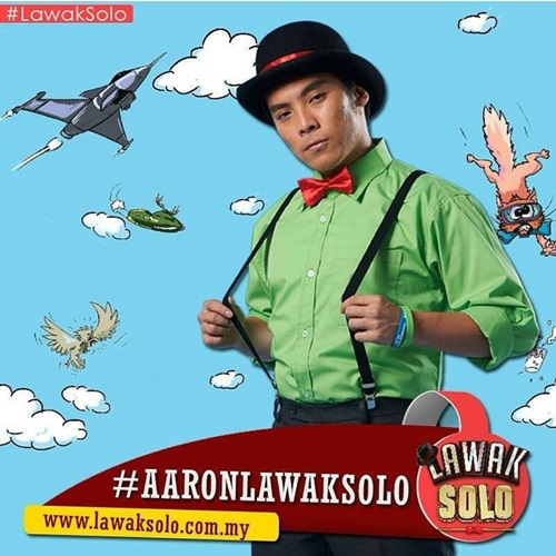 biodata Aaron peserta lawak solo 2016 astro, biodata lawak solo Aaron, profile Aaron lawak solo 2016, biografi Aaron, profil dan latar belakang Aaron lawak solo 2016, gambar Aaron lawak solo