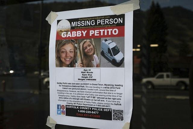 Το χρονικό της εξαφάνισης της Gabby Petito, της 22χρονης που συγκλόνισε τον πλανήτη