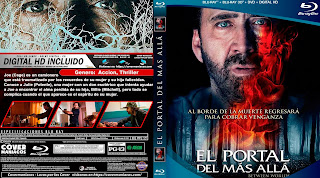 CARATULA EL PORTAL DEL MAS ALLA - BETWEEN WORLDS - 2019 [COVER DVD]