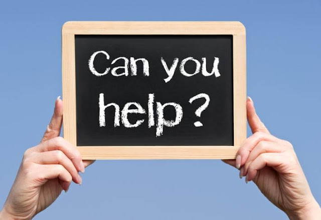 كيف تطلب المساعدة