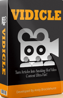 Vidicle- turns articles into video fast