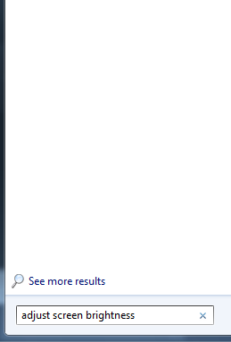 cara mengatur kecerahan pada layar monitor laptop