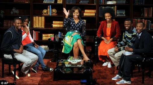 Image result for michelle obama wearing maki oh