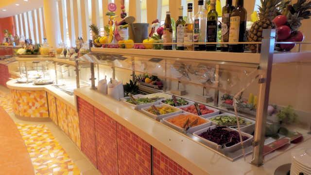 AIDAperla Fuego Restaurant, Buffet