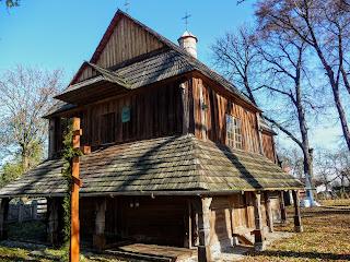 Добровляни. Льівська обл. Церква Воздвиження Чесного Хреста