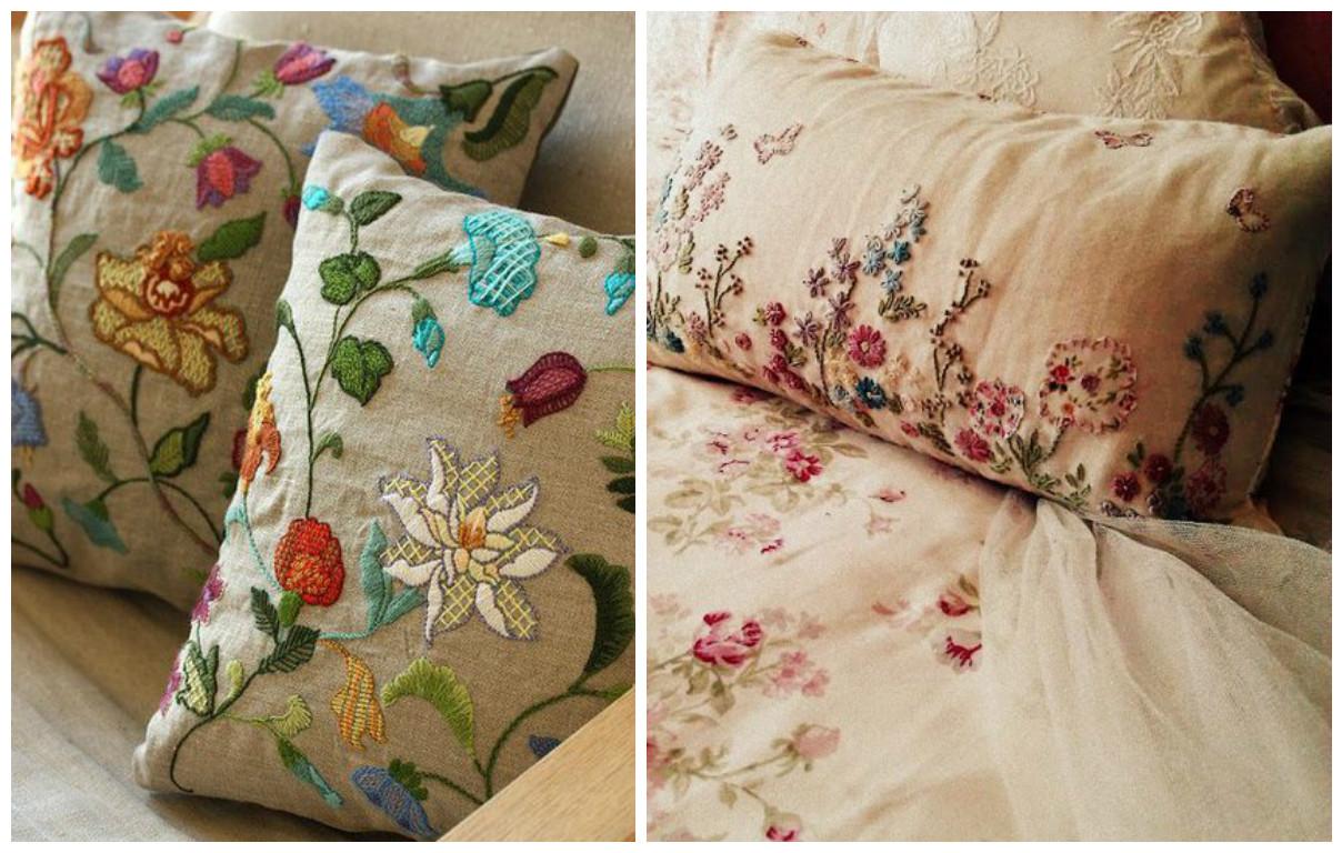 10 ideas para hacer lindos cojines decorativos para tu - Como colocar cojines en la cama ...