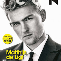 Matthijs de Ligt para ICON Italia en fotos de Van Mossevelde+N