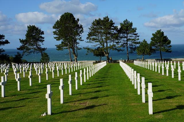 Cemitério Americano de Colleville-sur-Mer
