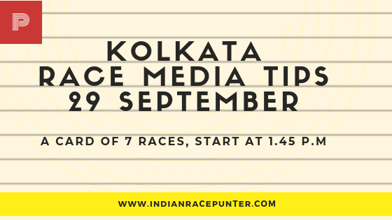 Kolkata Race Media Tips 29 September
