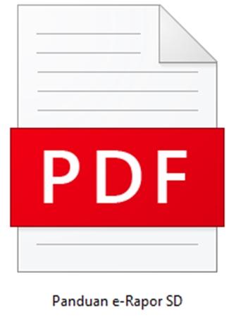 Download Panduan Aplikasi e-Rapor SD Versi 1.0  PDF