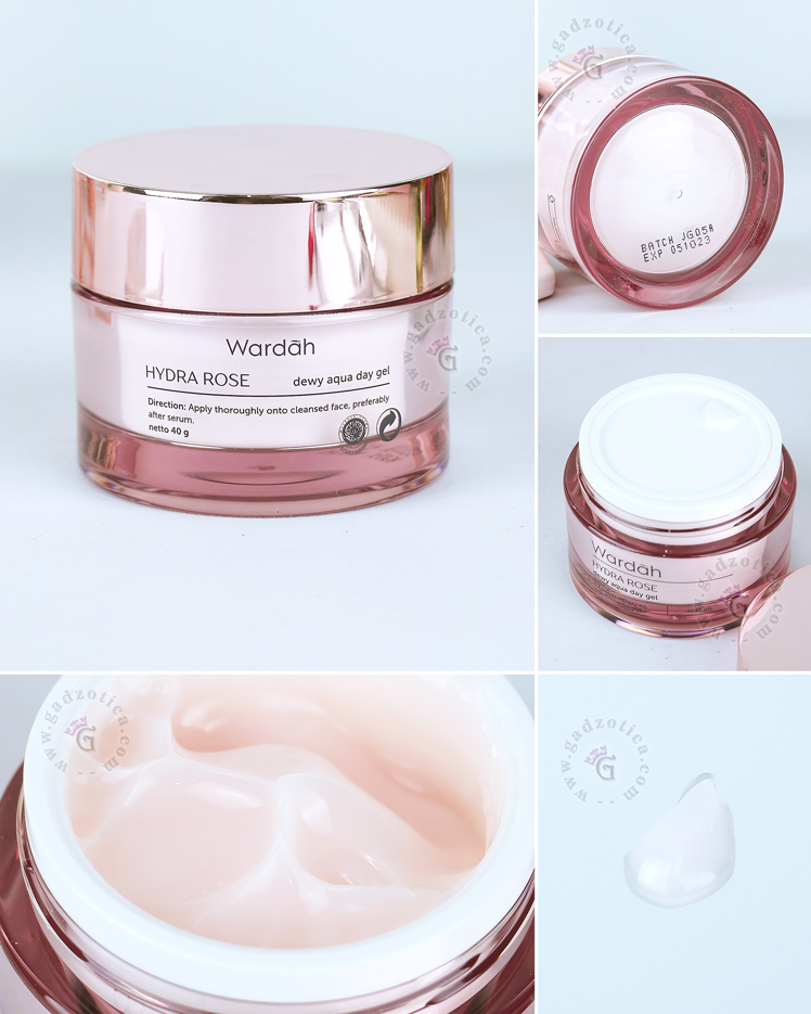 Review Wardah Hydra Rose Dewy Aqua Day Gel