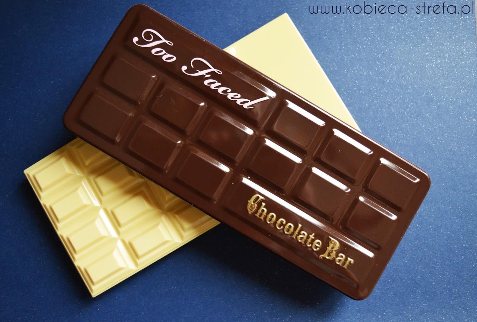 Porównanie czekolad - Too Faced i Makeup Revolution - palety cieni