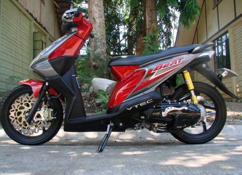 Immediately Following Photo Modification Honda Beat May Be Useful Read Also Yamaha Mio Style
