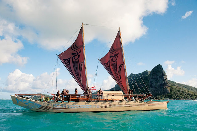 Large Polynesian Outrigger