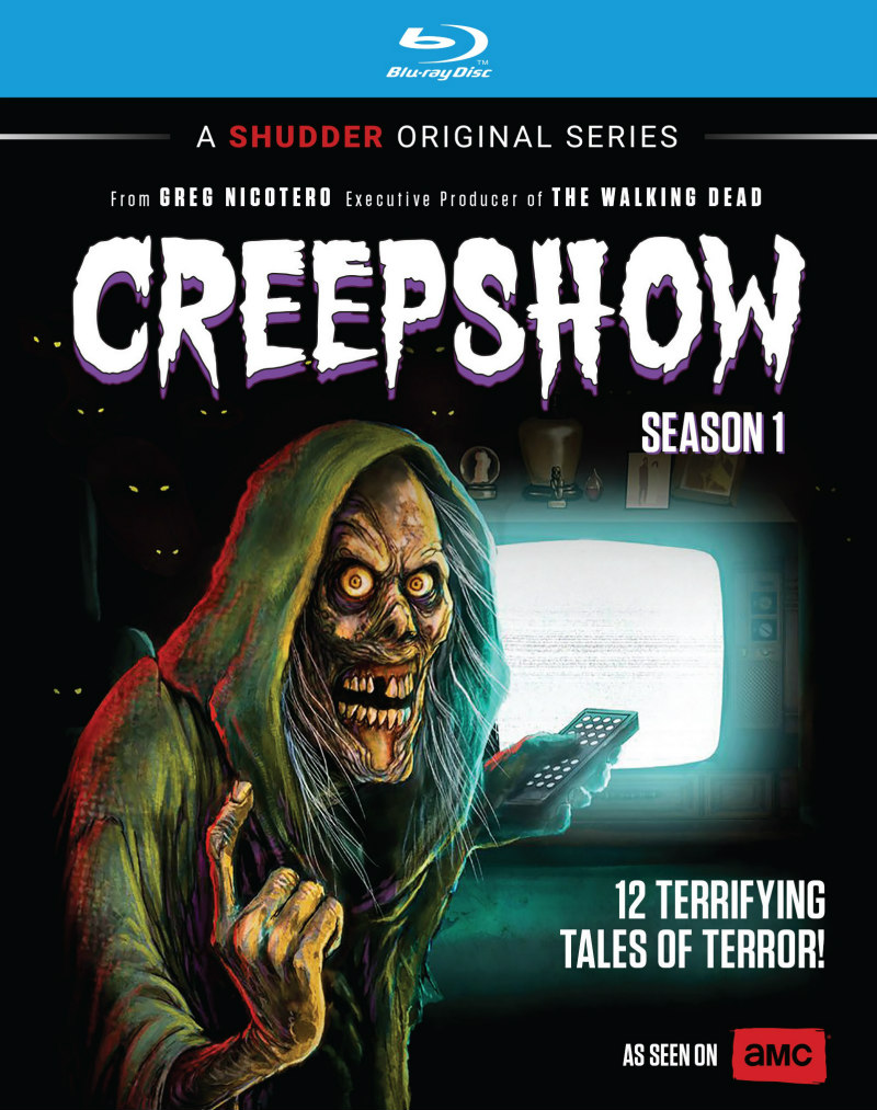 creepshow season one bluray