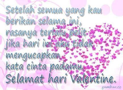kata kata mutiara untuk valentine