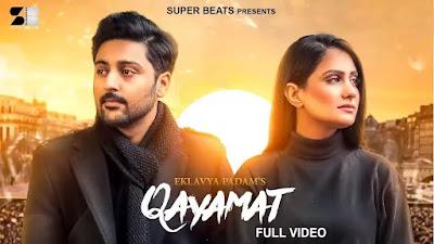 Checkout Eklavya padam real song Qayamat lyrics only on lyricsaavn