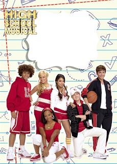 Etiquetas de High School Musical para imprimir gratis