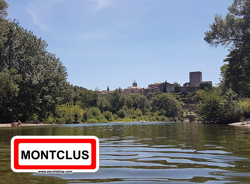 """Montclus """" Les plus beaux village de France """""""