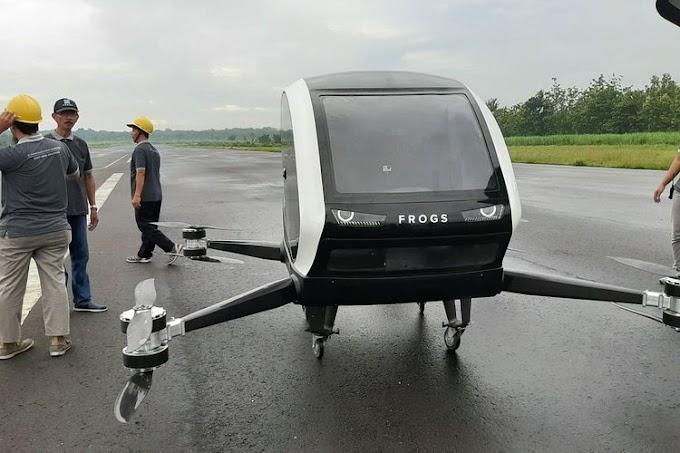 Startup asal yogyakarta ciptakan taksi terbang untuk  masa depan Indonesia