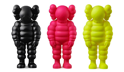"""What Party"" Chum Companion Vinyl Figure by KAWS"