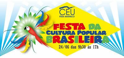 """CEU Pêra fecha primeiro semestre em grande estilo com a """"Festa da cultura popular brasileira"""" Imagem: acervo CEU Pêra"""