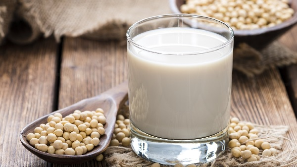 What are the benefits of soy milk for storage?