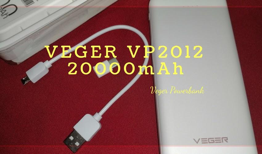 VEGER VP2012 20000mAh Review #VegerPH #VegerPowerbank