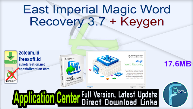 East Imperial Magic Word Recovery 3.7 + Keygen_ ZcTeam.id