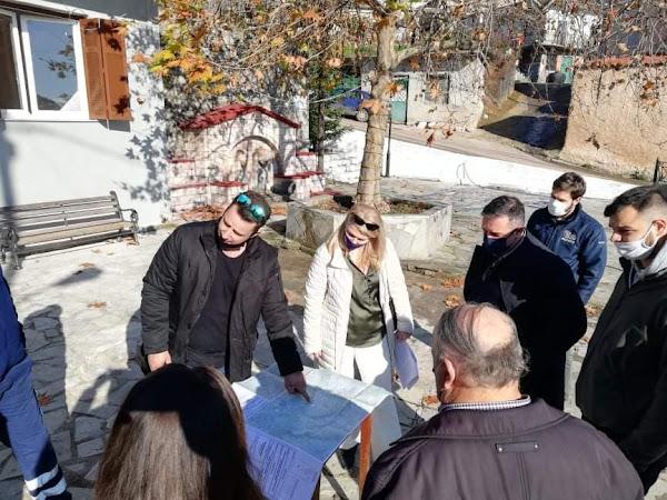 Συνάντηση της Δημάρχου Στυλίδας με τον Βουλευτή Φθιώτιδας Θεμιστοκλή Χειμάρα