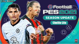 Download PES 2021 PPSSPP Chelito Version Lite Real Faces Kits & Camera Fix Cursor Name