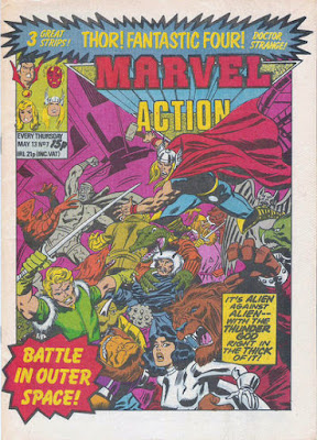 Marvel Action #7, Thor