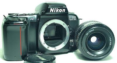 Nikon F601 QD Body #698, AF Zoom-Nikkor 35-70mm F3.3~4.5