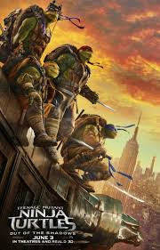Download Film Teenage Mutant Ninja Turtles: Out of the Shadows Subtitle Indonesia 2016