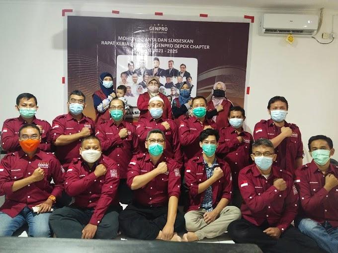Genpro Depok Chapter Presentasikan Program Kerja Melalui Pra-Raker