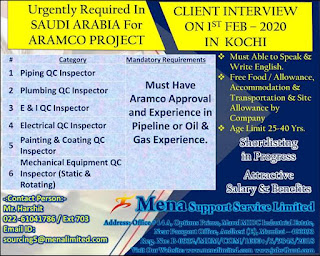 Aramco Project Required for Saudi Arabia