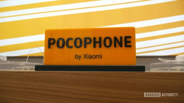 Pocophone logo on desk - is the Redmi K20 Pro the Pocophone F2