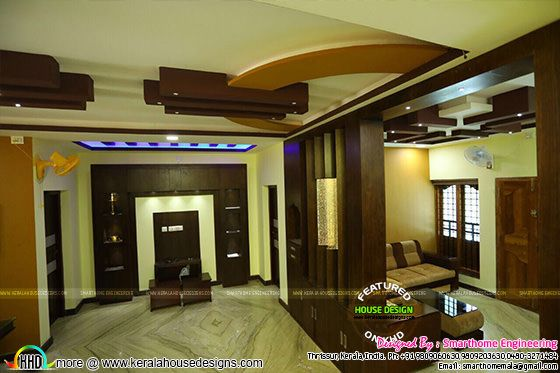 Furnished interior