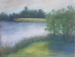 Annandale water; the painting that A did