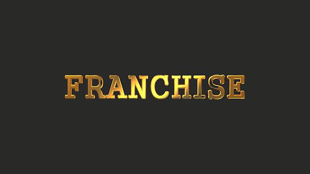 Баннер золотая франшиза