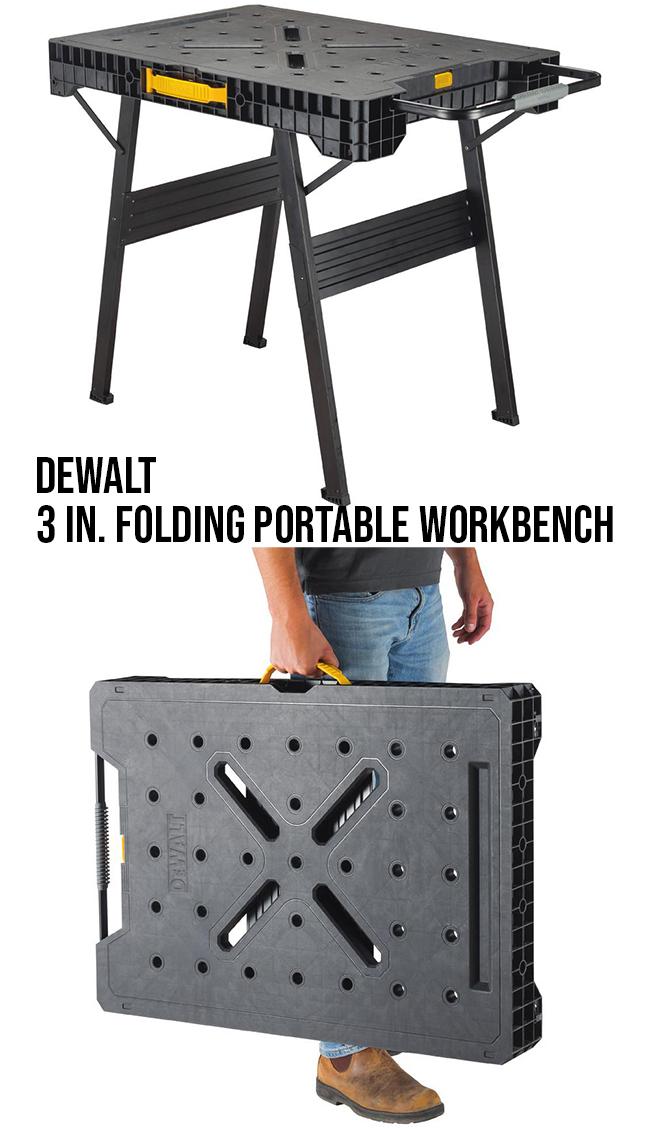 Dewalt 33 in. folding portable workbench