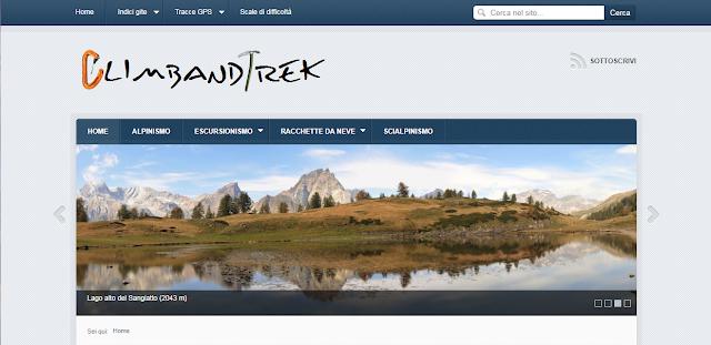 CLIMBANDTREK Il sito web di Stefania e Giancarlo