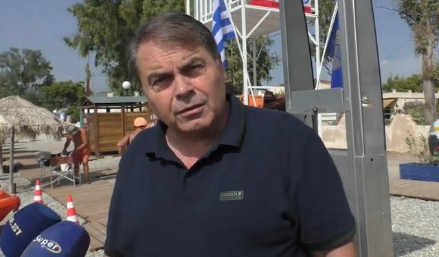 Δημήτρης Καμπόσος: Πλήρως οργανωμένες και οι 4 παραλίες του Δήμου Άργους Μυκηνών (βίντεο)