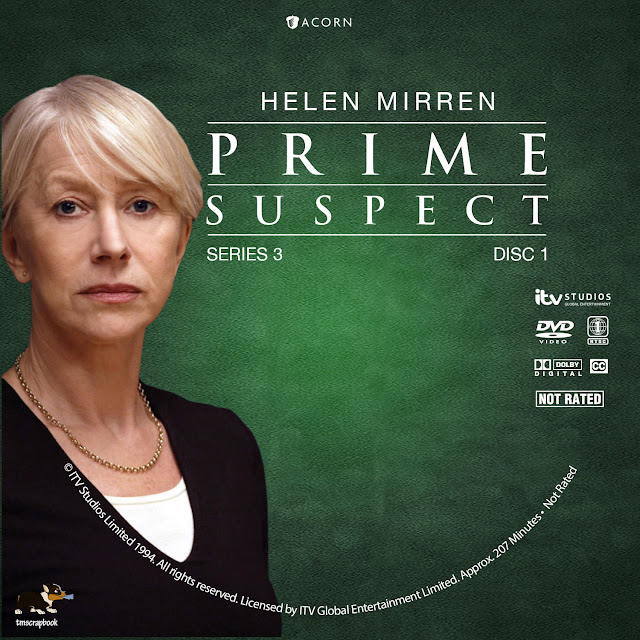 Prime Suspect Season 3 Disc 1 DVD Label