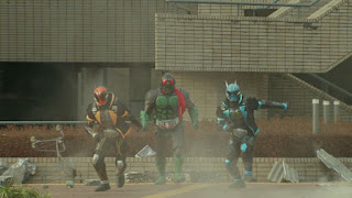 The new look Rider 1 with Ghost and Specter