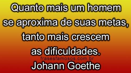 Frases de Johann Goethe