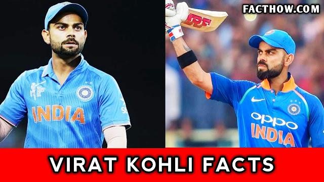 Virat Kohli से जुड़े 50 अनसुने मजेदार रोचक तथ्य, रिकार्ड्स और जानकारी