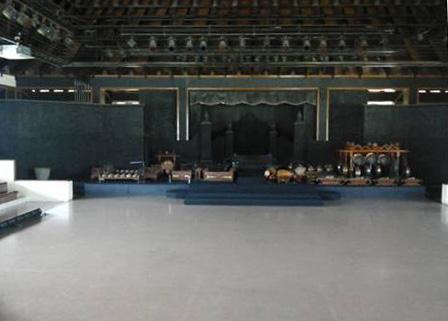 Gambar 2. Panggung Tertutup Ramayana Ballet Prambanan/Panggung Trimurti (Ramayana Trimurti Indoor Theatre) di waktu siang hari