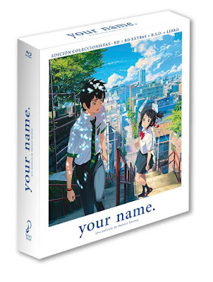 YOUR NAME. EDICIÓN COLECCIONISTA BLURAY