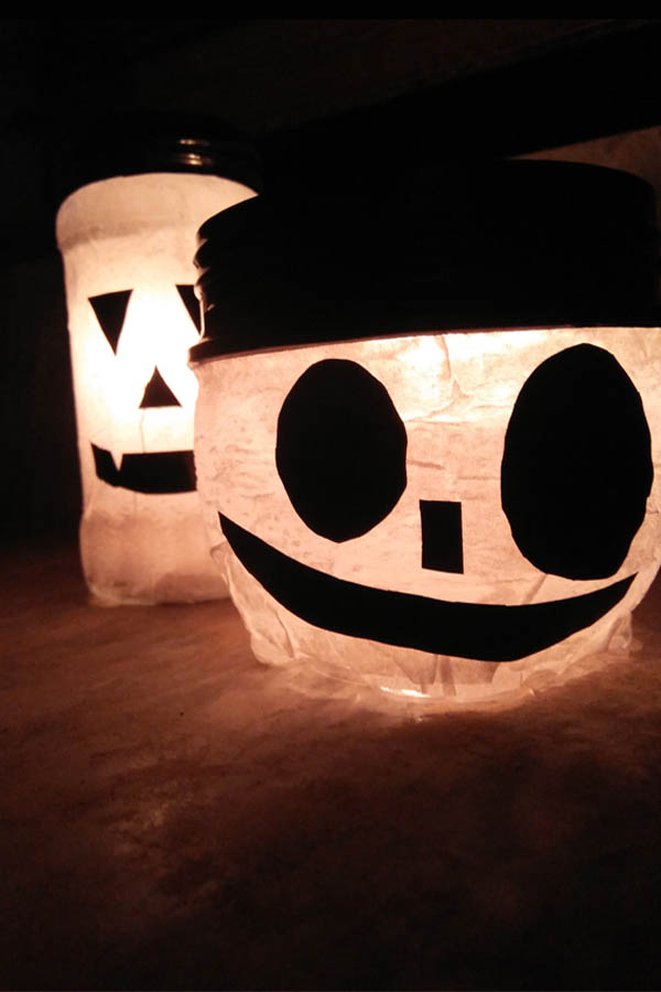 How To Make Mason Jar Candles Project You Should Try This Halloween